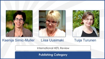 Outstanding Paper Awards for IHR
