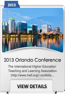 2013 Orlando Conference